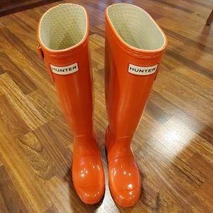 EUC Hunter Gloss Tall Boots